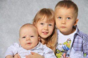 Алименты на 3 детей