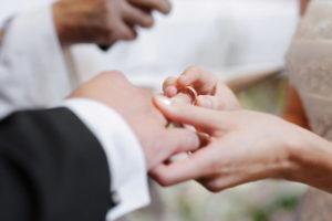 Церемония брака