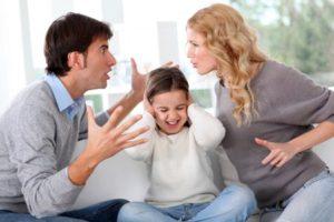 Развод при детях
