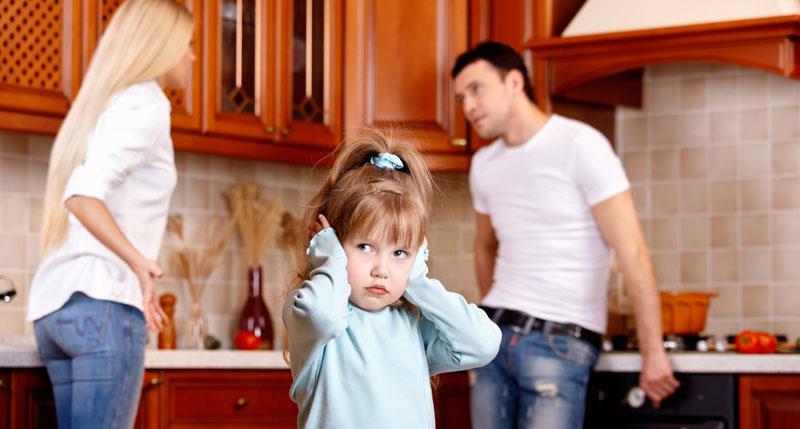 Ребенок свидетель ссоры
