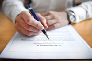 Необходимые документы для лишения