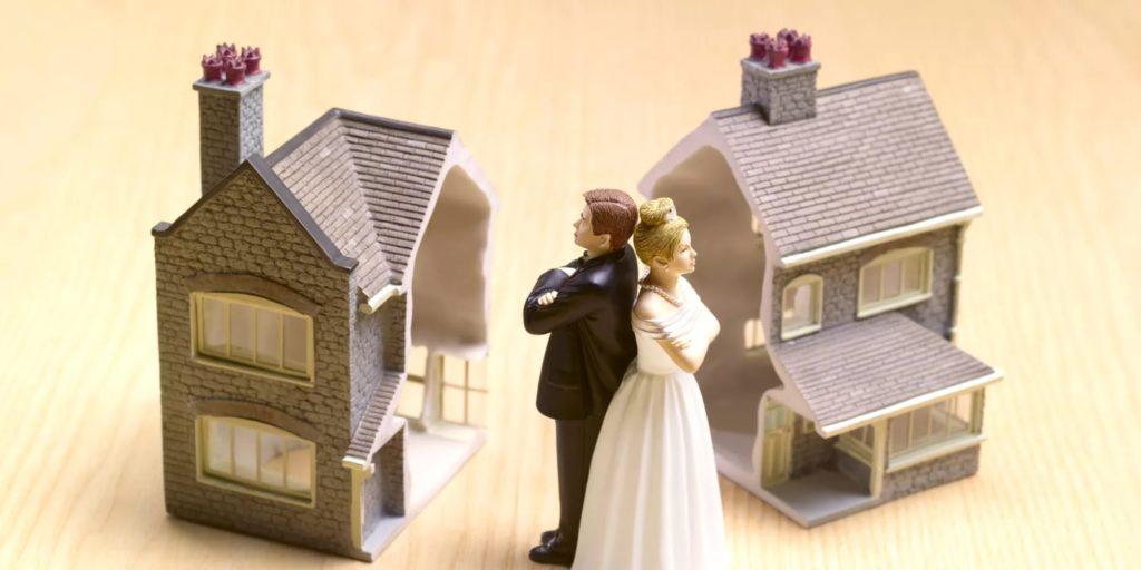 Дом при разводе