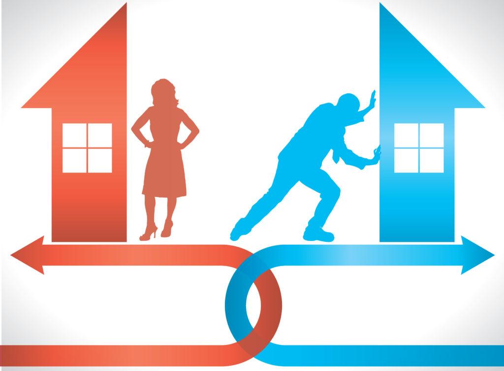 Как проходит раздел дома после развода самых