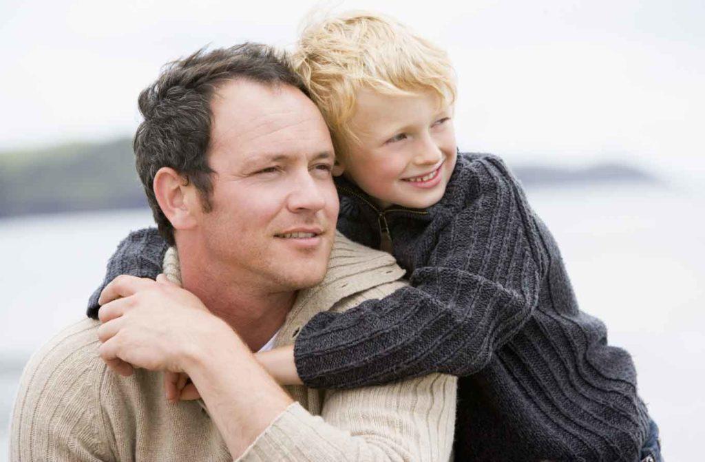 Ребёнок с отчимом